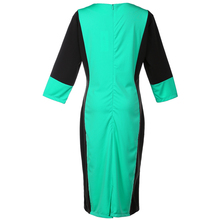 Patchwork Oversized Casual Pencil Dress for Women