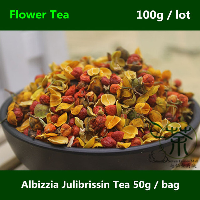 Albizia julibrissin tea nourish the heart 100g persian silk tree albizia julibrissin tea nourish the heart 100g persian silk tree flower bud calm the spirit mightylinksfo