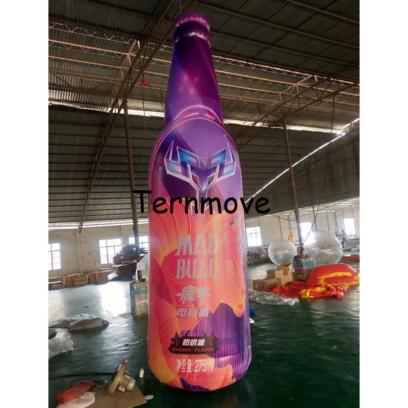 giant inflatable beer bottle can tin for advertising pvc replica product inflatable Bottled coffee drink milk with logo ac028 factory price giant inflatable advertising new customized replica product