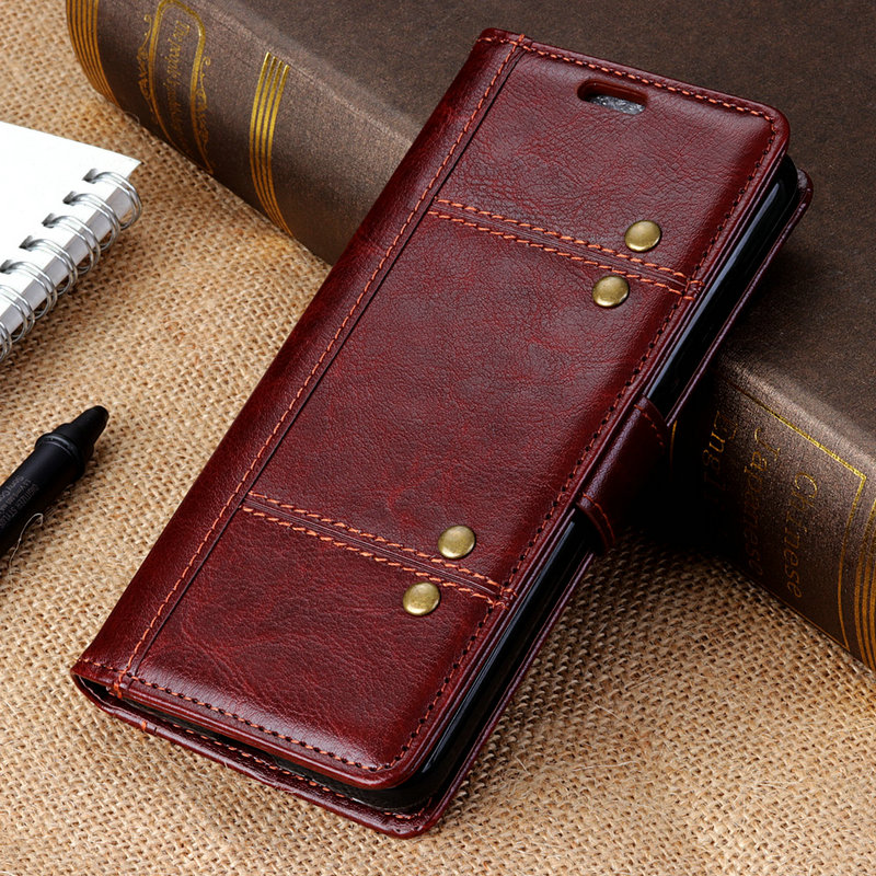 M10 / M20 Case Funda Capa Vintage Wallet Flip Stand Cover For Samsung Galaxy M10 6.22'' / M20 6.3'' Fashion Luxury Leather Case