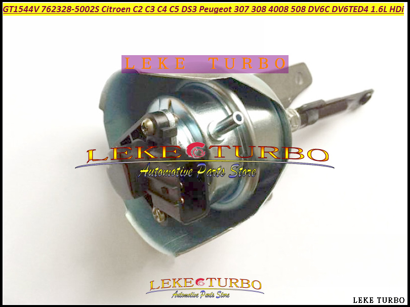 Turbo Actuator GT1544V 762328 762328-5003S 762328-0001 9663199080 For CITROEN C2 C3 C4 C5 DS3 For PEUGEOT 307 308 DV6C 1.6L HDI фаркоп peugeot 307 308 2001 citroen c4 2004 без электрики