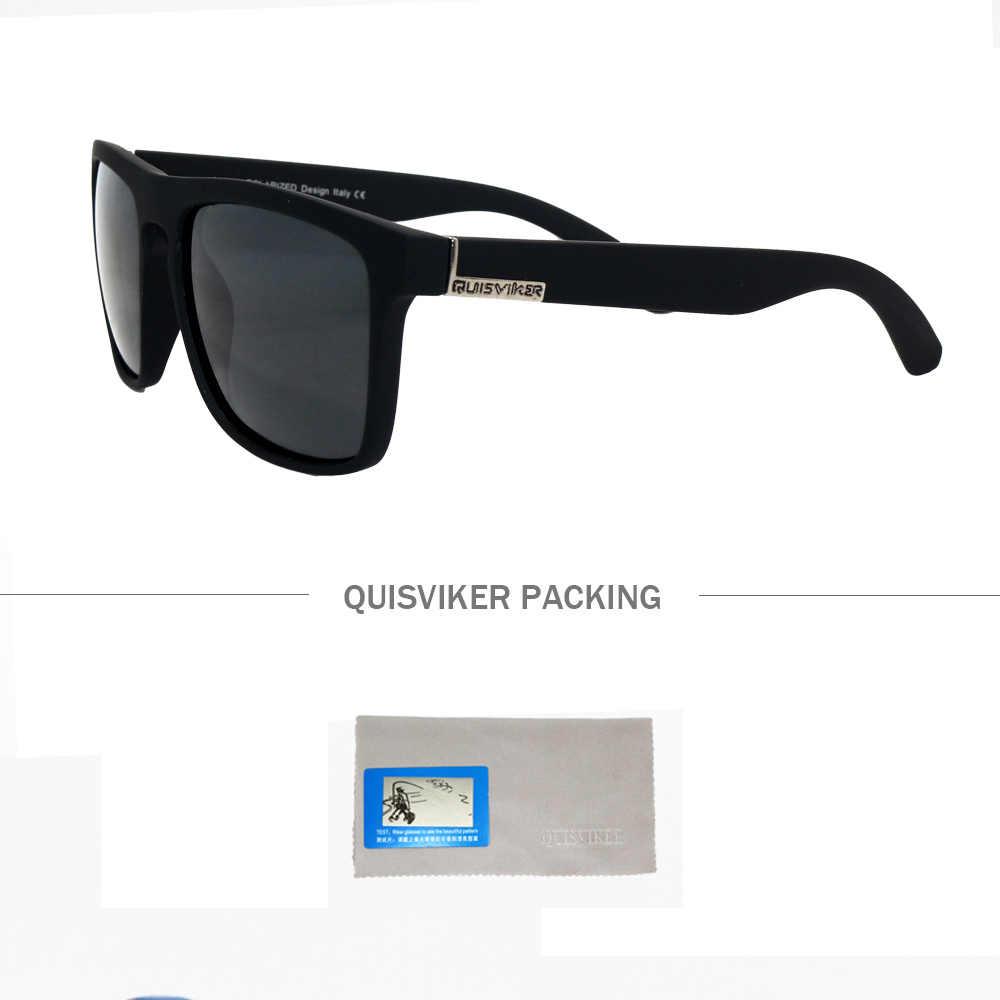 QUISVIKER Marca Das Mulheres Dos Homens Polarizados Óculos De Pesca Óculos de Sol Óculos de Desporto Ao Ar Livre Óculos de Condução Óculos UV400 Sol (SEM CAIXA de Papel)