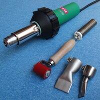 Hkbst Новейшие ce и rohs ручной 1550 Вт Воздушный Пластиковые Сварщик Gun включают пресс rolelr и конфорка и 2 Плоская Насадка