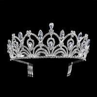 New Vintage Gold Silver Tiara Leaf Headband Hair Jewelry Wedding Hair Accessories Princess Crown Handmade Bridal