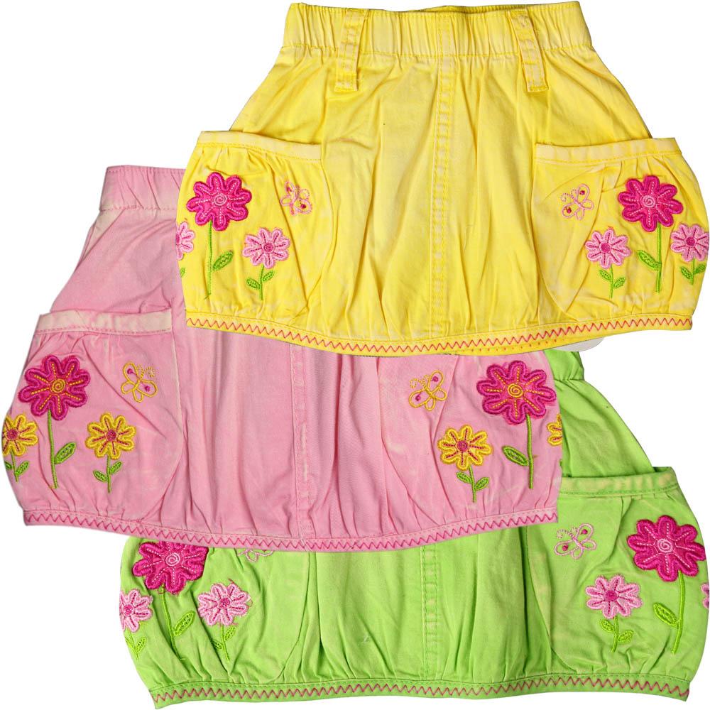Вышивка детские юбки