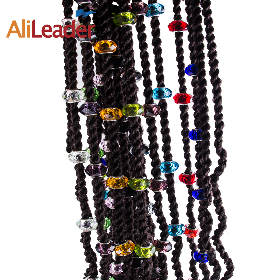 Buy crystal hair beads and get free shipping on AliExpress.com 7907c9f757bf