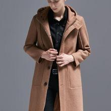 Популярное шерстяное пальто для мужчин; коллекция года; сезон осень-зима; Новинка; куртка с капюшоном; модное повседневное пальто для мальчиков; Студенческая куртка! S-6XL