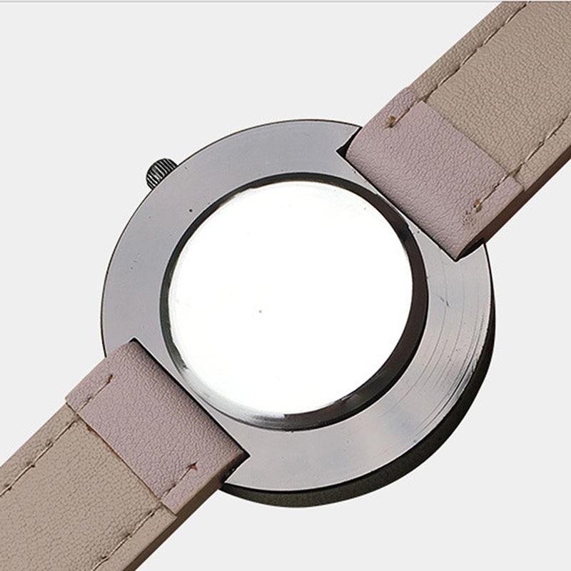 2016 Märke Lyxiga Kvinnor Armbandsur Casual Mode Dam Leather Quartz - Damklockor - Foto 6
