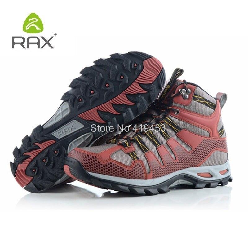 Rax Sports de plein air montagne hommes chaussures en cuir chaussures de randonnée imperméables hommes léger Trekking bottes de chasse Top qualité D0547