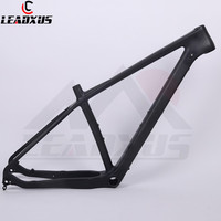 LEADXUS CMF21 MTB Carbon Frame 29er Carbon MTB Frame Mountain Bike Frame Compatible with Straight Suspension Tapered Forks