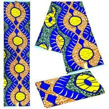 Полиэстер воск печатает ткань Анкара высокого качества 12 ярдов африканская ткань голландский воск для вечерние платья