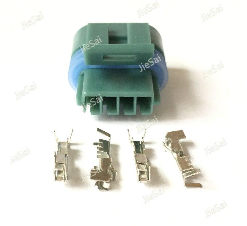 US $6.47 35% OFF 4 Pin 12162833 12162834 Delphi Female Waterproof  on