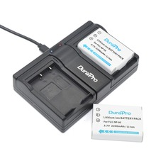 DuarPro 3Pcs NP-95 NP95 Battery + USB Twin Charger for Fujifilm X30 X100 X100S X100T X-S1 FinePix F30 FinePix F31 f F31fd W1