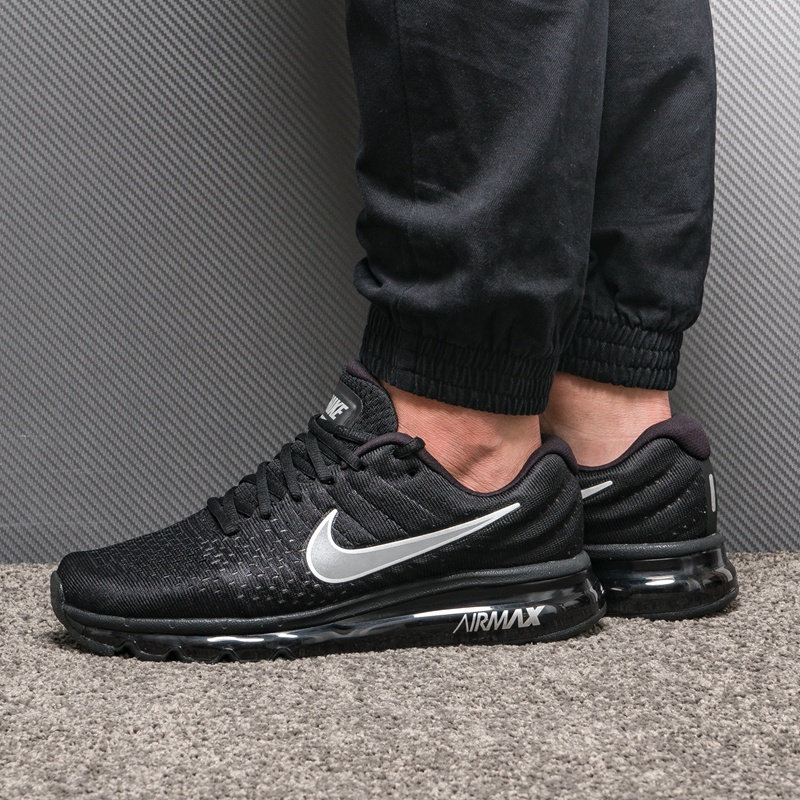 US $59.63 60% OFF|Original Official Nike Air Max 2017 Breathable Men's Running Shoes Sports Sneakers Winter Sneakers Air Cushion Shoes Outdoor in