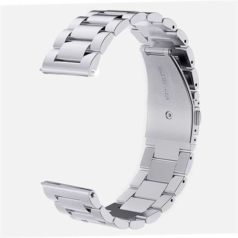 V-MORO Wristband 18MM 20MM 22MM Band Watch Strap Solid Metal Stainless Steel Fashion Black Sliver Bracelet 20MM Bands 22MM Strap lord foresta umbra moro 50x50
