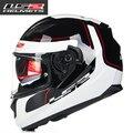 Envío libre 100% Genuino 2016 Nuevo Doble lente con airbag la Calidad es muy buena LS2 casco de moto casco integral FF320