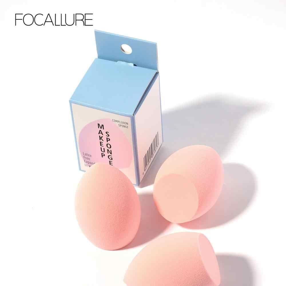 FOCALLURE Maquiagem Esponja puff para Blending fundação creme corretivo Sopro de pó ferramentas de maquiagem suave Cosméticos facial