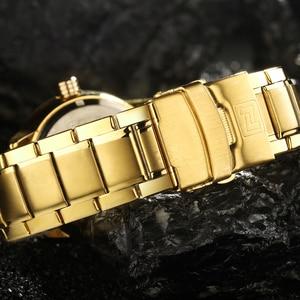 Image 5 - ใหม่แฟชั่น Mens นาฬิกาเหล็กเต็มรูปแบบนาฬิกาข้อมือชายกีฬากันน้ำ Quartz นาฬิกาผู้ชายทหารชั่วโมง Man Relogio Masculino