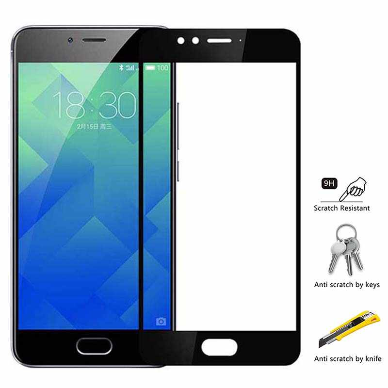 Protective Glass On For Meizu m5s m5 m6 note Screen Protector Tempered Glass on m6s 5c 15 16th plus m6 mini Full Cover vidrio 9H