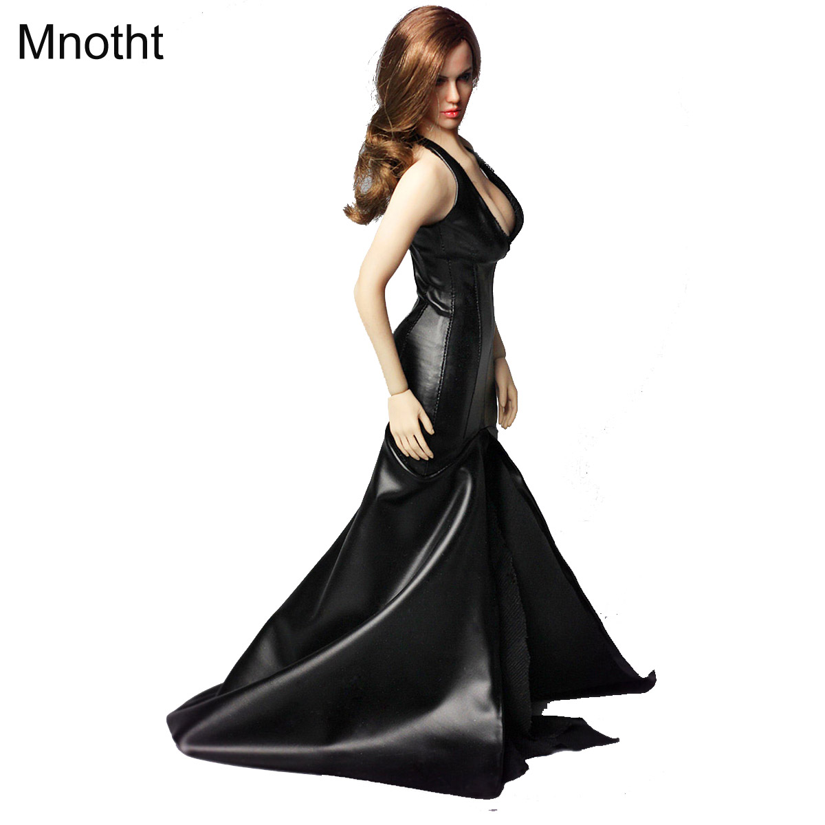 Mnotht 1/6 Solider Model Toys LG04 Julie Carving Head Model And Black Tuxedo Suit Clothes Pre Sale mnotht 1 6 siberian husky model toys