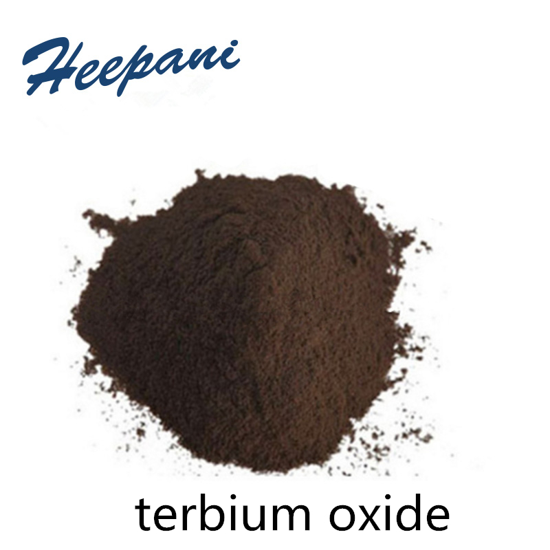 Free Shipping Tb4O7 99.9% Purity Rare Earth Terbium Oxide Powder For Scientific Research