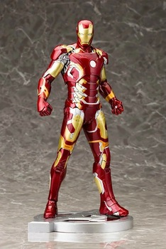 Iron Man Mark XLIII 43 1/6 Scale Pre-painted Model Kit with LED Light Action Figure Collectible Model Toy
