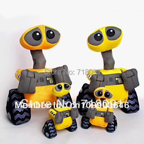 """Plush Stuffed Toy Walle,WALL-E Doll for Children Birthday Gifts,11"""" and 15"""" and 24"""",1PC"""