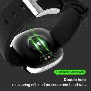Image 3 - Nieuwe Screen Activiteit Tracker Waterdicht Smart Armband Bloeddruk Stappenteller Smart Polsband Hartslagmeter Mens Vrouwen