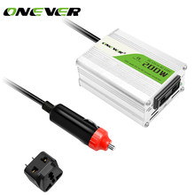Onever 12 V DC zu AC 220 V 50 HZ Auto Modifizierte Sinuswelle Auto-energien-inverter-konverter-adapter-adapter 200 Watt USB Car Charger Für Iphone 8 8 PLus(China)