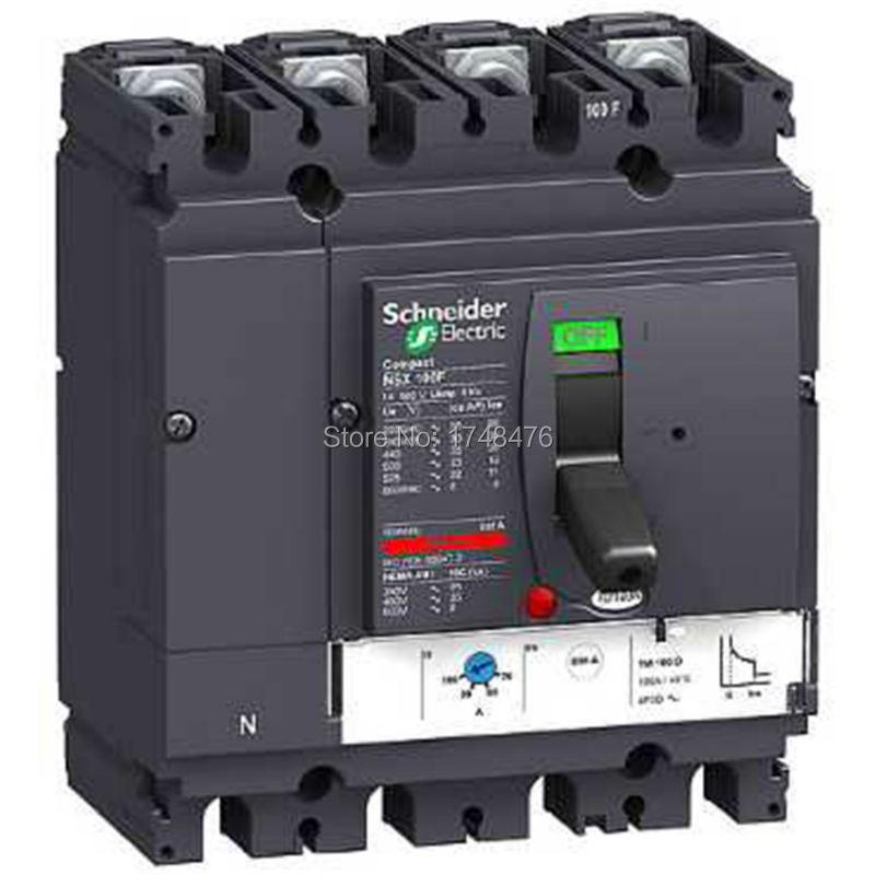 ФОТО NEW LV429685 circuit breaker Compact NSX100H - TMD - 32A - 4 poles 3d