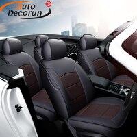 AutoDecorun сиденье из натуральной кожи чехол для Land Rover Range Rover спортивные аксессуары чехол на сиденье автомобиля протектор подушки 2006 2019