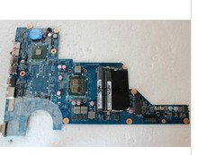 Best Price laptop motherboard for H*P G4 G6 G7 G7-1000 HM55 I3 CPU integrated DDR3 655990-001