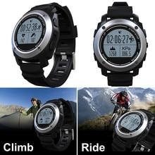 Спорт на открытом воздухе GPS Смарт-часы монитор сердечного ритма мониторинг сна