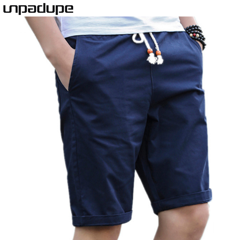 Cotton Shorts Summer Male Breathable Fashion-Brand Cool Masculino Casual Men