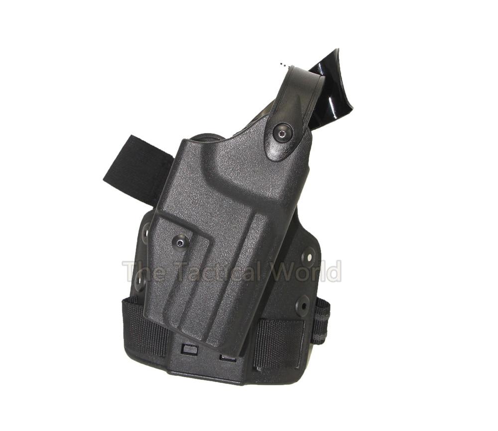 Tactical IPSC Airsoft Paintball Pistola Pierna de La Gota Pistola Del Muslo de C