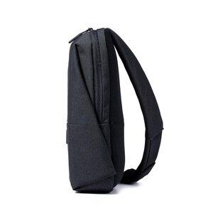 Image 5 - Original Xiaomi Rucksack städtischen freizeit brust pack Für Männer Frauen Schulter Typ Unisex Rucksack für kamera DVD handys reisetasche