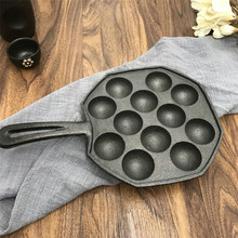12 holes DIY Pan Takoyaki octopus balls baking grill mold burning Plate Maker kitchen cooking tools цена