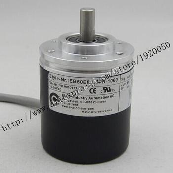 Supply of  EB50B8-L6PR-1000 Elco ELCO 1000 line rotary encoder solid shaft 8mm