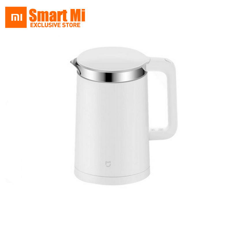 Original Mi Mijia Constant Temperature Control Electric Water Kettle 1.5L 12 Hour thermostat Support with Mobile Phone APP thermostat temperature control kettle top base set socket electric kettle parts