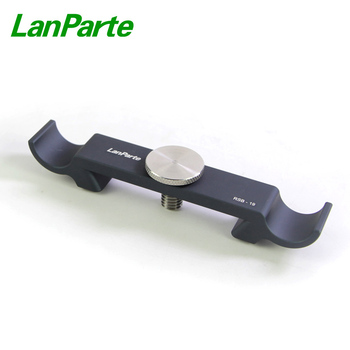 Lanparte 19mm Rod Support Bracket with Standard Dovetail Design for Camera Rig