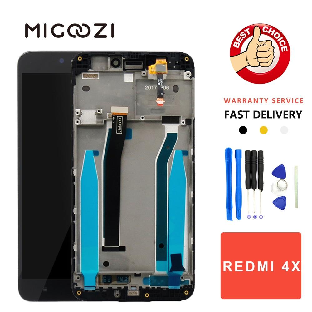 Für Xiaomi Redmi 4X LCD Display + Touch Screen Panel Digitizer LCD Montage mit Rahmen für Xiaomi Redmi 4X Globale 5,0 zoll Bildschirm