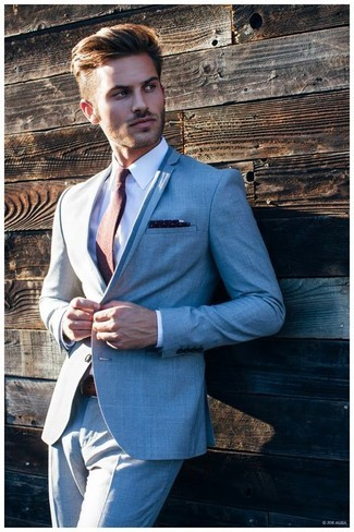 7382c89b417 Summer Beach Grey Formal Tuxedo Custom Made Men Suits Jacket Best Men  Blazer Handsome Business Skinny Groom Suit Prom 2 Piece