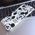 Горячая прибыл Лондон Телефонной Будки Интересный Дизайн Микки Минни разнообразие милые счастливый злое выражение Case для iphone 6 6 s плюс