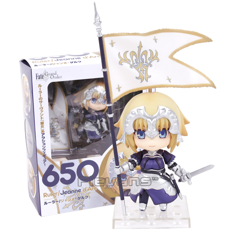 Fate Grand Order Ruler Jeanne d Arc 650 Nendoroid Doll PVC Action Figure Collectible Model Toy neca marvel legends venom pvc action figure collectible model toy 7 18cm kt3137