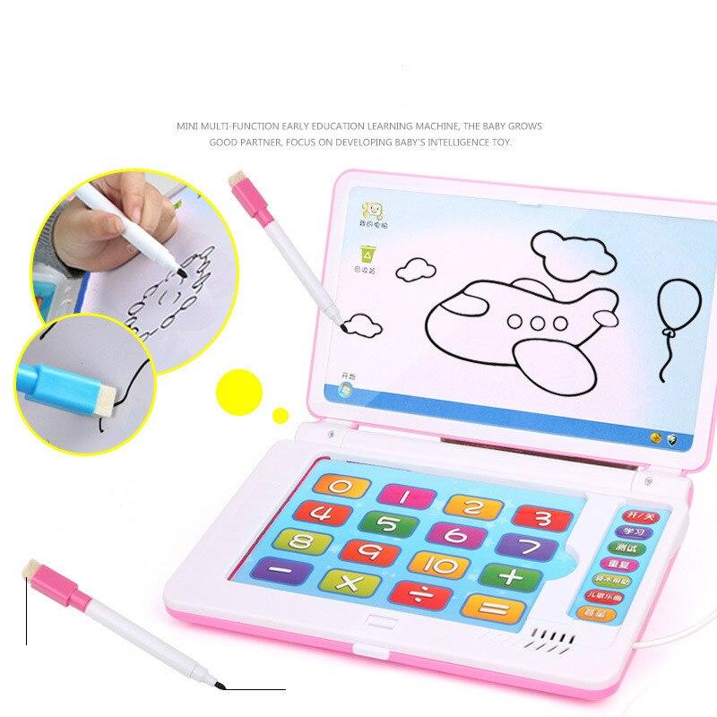 Machine d'apprentissage éducatif multifonction anglais tôt tablette ordinateur jouet enfant