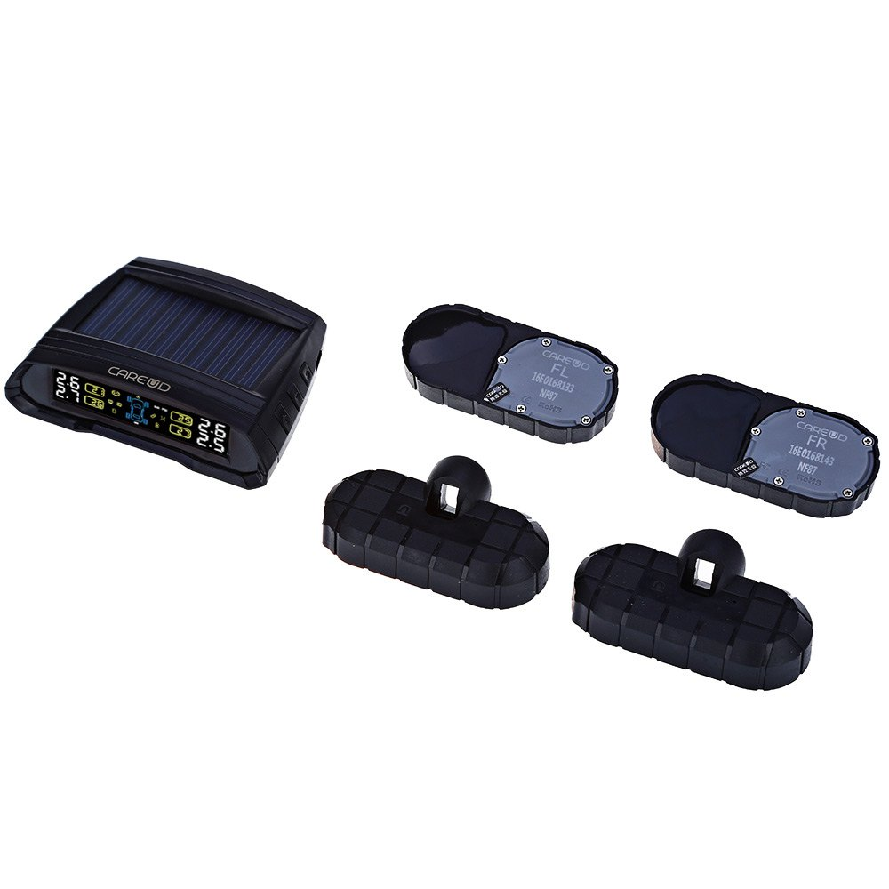 ФОТО T802 LCD Display Car Wireless Tire Tyre Pressure Monitoring System 4 External Sensors For Cars Solar Power Car Diagnostic Tool