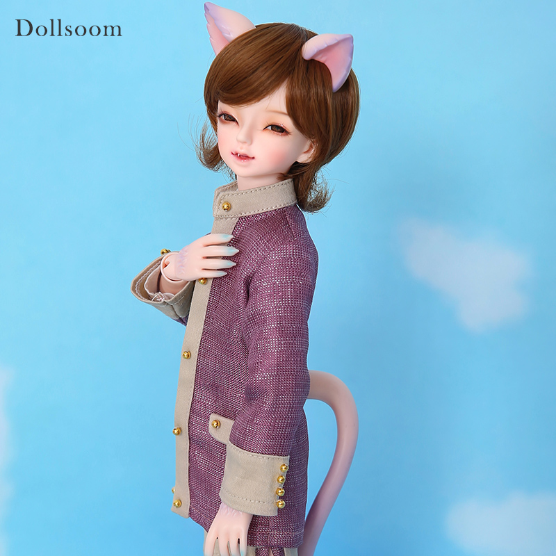 Cheshire Little Gem 1/4 BJD Doll Resin Figures Luts Yosd Kit Cat Fantasy Version Doll Sales Toy Gift lutsbjd luts tiny delf peter 1 8 bjd doll resin figures luts ai yosd kit doll toys for girls birthday xmas best gifts