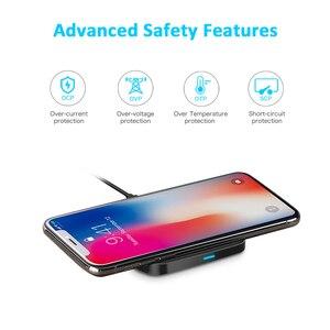 Image 3 - CHOETECH cargador inalámbrico QI para móvil, Cargador USB tipo C de 10W, para iPhone X, Xs, Xr, 7, 8 Plus, Samsung Galaxy S9, S8