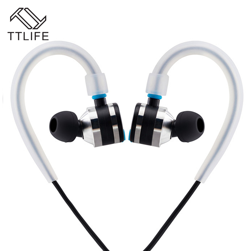 TTLIFE E6 Sport Wireless Bluetooth Earphone V4.1 HD Stereo Sweatproof APT-X bluetooth headset With mic Universal fone de ouvido ttlife original bluetooth v4 1 earphone wireless in ear stereo headset waterproof apt x sport headphone with mic for ios android