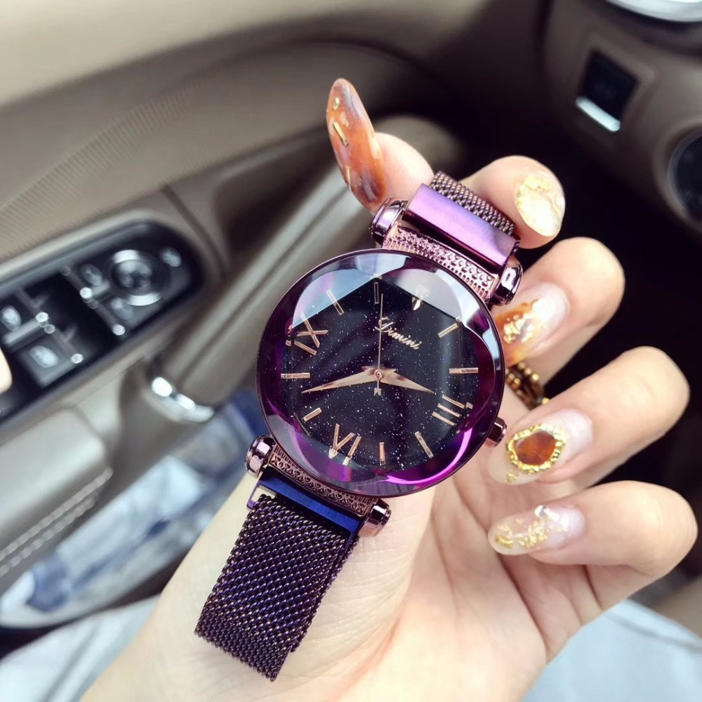 2018 Luxury New Brand lady Quartz Watch Female Magnet